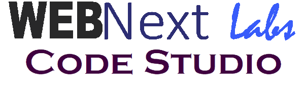 WEBNext Labs Code Studio