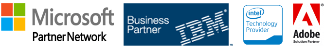 microsoft Partner | IBM Partner | Intel Partner | Adobe Partner